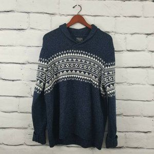 Abercrombie and Fitch  Merino Wool Blend Sweater